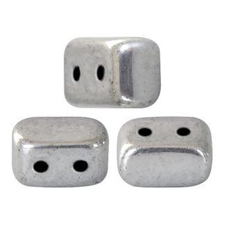 De Ios® par Puca® van het merk les Perles par Puca® is te koop bij kralenwinkel Limited Edition in Den Haag in de kleur Argentees Silver.