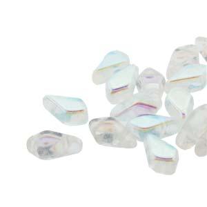 De Kite bead is een glaskraal met twee gaten in de vorm van een vlieger en is te koop bij kralenwinkel Limited Edition in de kleur fine 00030-28701.