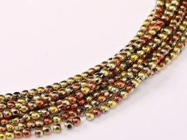 Deze ronde 2mm glaskralen worden vaak gebruikt in armband of ketting patronen en zijn te koop bij kralen winkel Limited Edition in Den Haag in de kleur 23980-98542.
