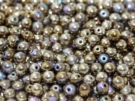 Deze ronde 3mm glaskralen worden vaak gebruikt in armband of ketting patronen en zijn te koop bij kralen winkel Limited Edition in Den Haag in de kleur 00030-98554.