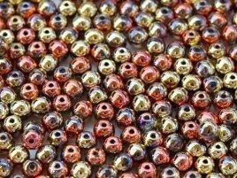 Deze ronde glaskralen worden vaak gebruikt in armband of ketting patronen en zijn te koop bij kralen winkel Limited Edition in Den Haag in de kleur 00030-98542.