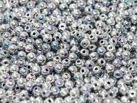 Deze ronde glaskralen worden vaak gebruikt in armband of ketting patronen en zijn te koop bij kralen winkel Limited Edition in Den Haag in de kleur 00030-98553.