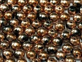 Deze ronde 4mm glaskralen worden vaak gebruikt in armband of ketting patronen en zijn te koop bij kralen winkel Limited Edition in Den Haag in de kleur 23980-27100.