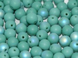 Deze ronde 4mm glaskralen worden vaak gebruikt in armband of ketting patronen en zijn te koop bij kralen winkel Limited Edition in Den Haag in de kleur 63130-28771.