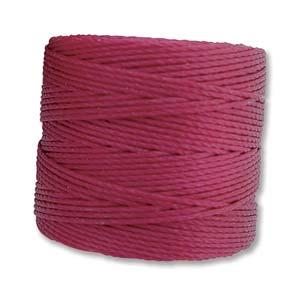 S-Lon bead cord Tex 210: Wineberry.