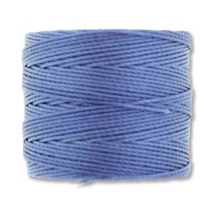 S-Lon bead cord Tex 210: Periwinkle.