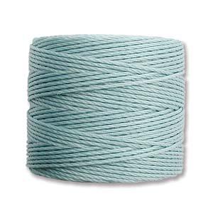 S-Lon bead cord Tex 210: Turquoise.