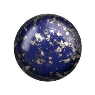 De Cabochons par Puca® van het merk les Perles par Puca® is te koop bij kralenwinkel Limited Edition in Den Haag in de kleur Opaque Dark Sapphire Silver.