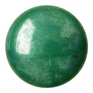 De Cabochons par Puca® van het merk les Perles par Puca® is te koop bij kralenwinkel Limited Edition in Den Haag in de kleur Opaque Green Luster3.