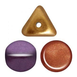De ilos® par Puca® van het merk les Perles par Puca® is te koop bij kralenwinkel Limited Edition in Den Haag in de kleur Yellow Gold Metallic Iris.