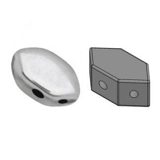 De Paros® par Puca® van het merk les Perles par Puca® is te koop bij kralenwinkel Limited Edition in Den Haag in de kleur Argentees Silver.