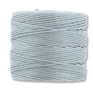 S-Lon bead cord Tex 210: Pearl.