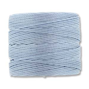 S-Lon bead cord Tex 210: Blue Morning.