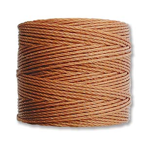 S-Lon bead cord Tex 210: Copper.