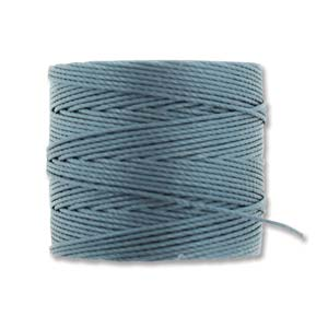 S-Lon bead cord Tex 210: Ice Blue.