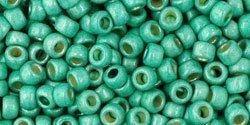 De rocaille 8/0 van het Japanse merk TOHO kan gebruikt worden om de gaafste sieraden mee te maken en zijn te koop bij kralenwinkel Limited Edition in Den Haag in de kleur TR-08-PF561F.