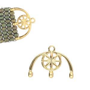 De onderdelen van Cymbal zijn ervoor gemaakt om een bepaalde kraal soort te vervangen of af te werken en zijn te koop bij kralenwinkel Limited Edition in de vorm Amatos III in de kleur goud.