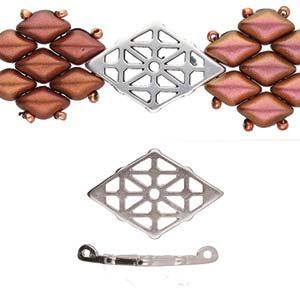 De onderdelen van Cymbal zijn ervoor gemaakt om een bepaalde kraal soort te vervangen of af te werken en zijn te koop bij kralenwinkel Limited Edition in de vorm Clima in de kleur zilver.