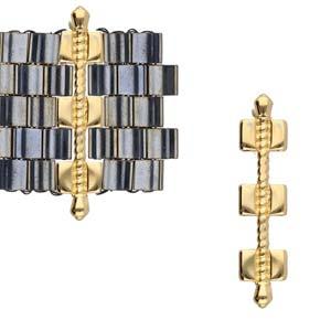 De onderdelen van Cymbal zijn ervoor gemaakt om een bepaalde kraal soort te vervangen of af te werken en zijn te koop bij kralenwinkel Limited Edition in de vorm Kalogeros in de kleur goud.