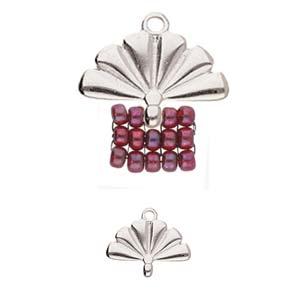 De onderdelen van Cymbal zijn ervoor gemaakt om een bepaalde kraal soort te vervangen of af te werken en zijn te koop bij kralenwinkel Limited Edition in de vorm Sitia in de kleur zilver.
