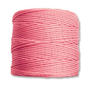 S-Lon bead cord Tex 210: Antique Pink.