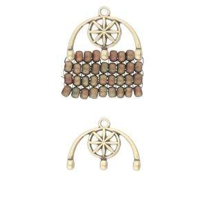 De onderdelen van Cymbal zijn ervoor gemaakt om een bepaalde kraal soort te vervangen of af te werken en zijn te koop bij kralenwinkel Limited Edition in de vorm Amatos III in de kleur brons.