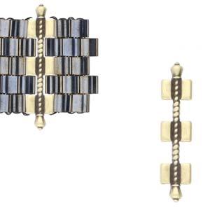 De onderdelen van Cymbal zijn ervoor gemaakt om een bepaalde kraal soort te vervangen of af te werken en zijn te koop bij kralenwinkel Limited Edition in de vorm Kalogeros in de kleur brons.