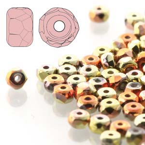 2x3mm Faceted Micro Spacers