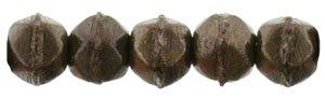 De English Cut glaskraal is een ronde kraal een rand, is 3mm groot en te koop bij kralenwinkel Limited Edition in de kleur 14415.