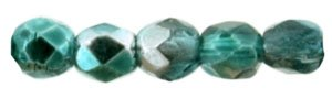De glazen Fire Polished 2mm beads worden veel gebruikt in sieraden patronen en zijn te koop bij kralenwinkel Limited Edition in Den Haag in de kleur KK5513CR.