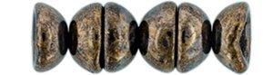 De Teacup kraal is 2x4mm groot en kan leuk gebruikt worden in patronen en is te koop bij kralenwinkel Limited Edition in Den Haag in de kleur BT2398.