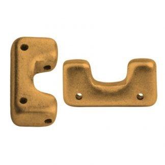 De Telos® par Puca® van het merk les Perles par Puca® is te koop bij kralenwinkel Limited Edition in Den Haag in de kleur Bronze Gold Mat.