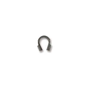 Deze draad beschermer of wire guardian kan gebruikt worden om het einde van de draad te beschermen en is te koop bij kralenwinkel Limited Edition in de maat 4x5mm in de kleur antiek zilver.