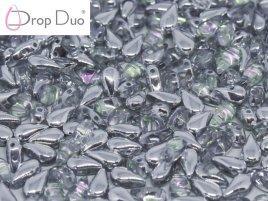 De DropDuo heeft twee gaten en is te koop bij kralenwinkel Limited Edition in Den Haag in de kleur 00030/26536.