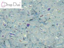 De DropDuo heeft twee gaten en is te koop bij kralenwinkel Limited Edition in Den Haag in de kleur 00030/28703.