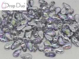 De DropDuo heeft twee gaten en is te koop bij kralenwinkel Limited Edition in Den Haag in de kleur 00030/98530.