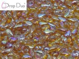 De DropDuo heeft twee gaten en is te koop bij kralenwinkel Limited Edition in Den Haag in de kleur 00030/98535.