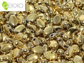 De gekko glaskraal is leuk om te gebruiken in sieraad patronen en is te koop bij kralenwinkel Limited Edition in Den Haag in de kleur 23980-26440.