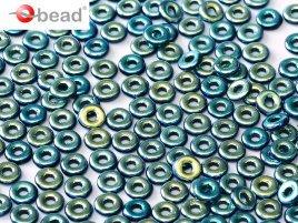 De O bead is leuk te gebruiken in patroontjes tussen andere kralen en is te koop bij kralenwinkel Limited Edition in Den Haag in de kleur 23980-28703.