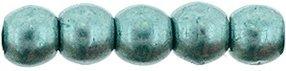 Deze ronde 2mm glaskralen worden vaak gebruikt in armband of ketting patronen en zijn te koop bij kralen winkel Limited Edition in Den Haag in de kleur 77060CR.