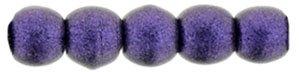 Deze ronde 2mm glaskralen worden vaak gebruikt in armband of ketting patronen en zijn te koop bij kralen winkel Limited Edition in Den Haag in de kleur 79021MJT.