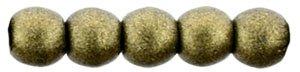 Deze ronde 2mm glaskralen worden vaak gebruikt in armband of ketting patronen en zijn te koop bij kralen winkel Limited Edition in Den Haag in de kleur 79080MJT.