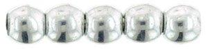 Deze ronde 2mm glaskralen worden vaak gebruikt in armband of ketting patronen en zijn te koop bij kralen winkel Limited Edition in Den Haag in de kleur S00030.