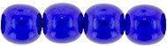 Deze ronde 4mm glaskralen worden vaak gebruikt in armband of ketting patronen en zijn te koop bij kralen winkel Limited Edition in Den Haag in de kleur 63378CR.