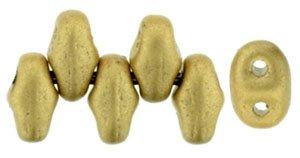 De MiniDuo van Matubo heeft twee gaatjes en is te koop bij kralenwinkel Limited Edition in Den Haag in de kleur K0171.