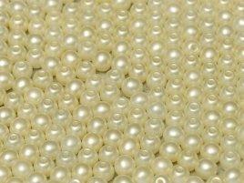 Deze ronde 2mm glaskralen worden vaak gebruikt in armband of ketting patronen en zijn te koop bij kralen winkel Limited Edition in Den Haag in de kleur 02010-25110.