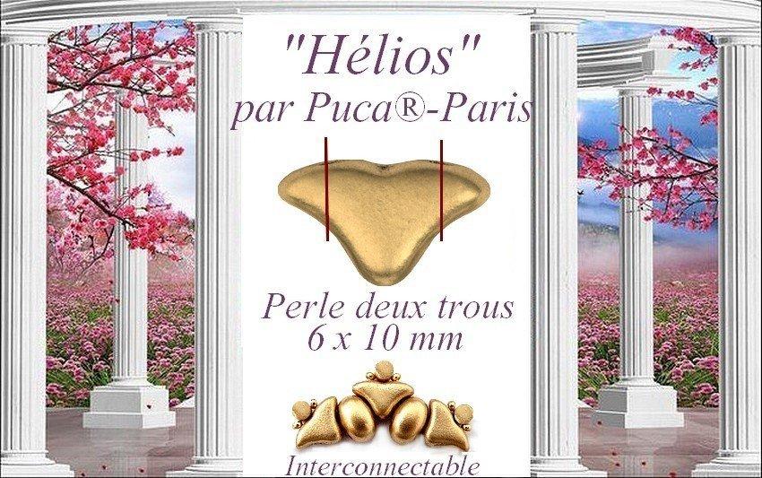 NIEUW: Hélios® par Puca® en nieuwe kleuren Cabochons® par Puca®