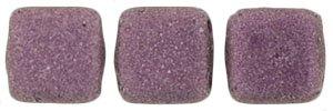 De Tile Bead van het merk CzechMates is 6mm en leuk te combineren met andere two hole beads en is te koop bij kralenwinkel Limited Edition in Den Haag in de kleur 79086MJT.