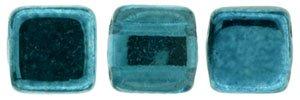 De Tile Bead van het merk CzechMates is 6mm en leuk te combineren met andere two hole beads en is te koop bij kralenwinkel Limited Edition in Den Haag in de kleur K5513.