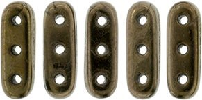 De CzechMates Beam glaskraal word veel gebruikt in sieraad patronen en is te koop bij kralenwinkel Limited Edition in Den Haag in de kleur LZ23980.